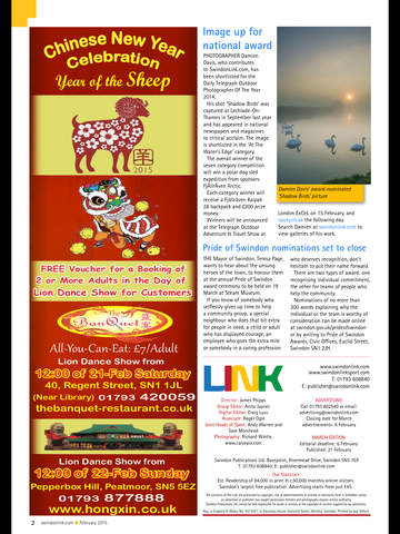 Swindon Link Magazine screenshot 10