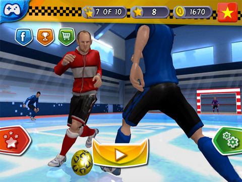 Indoor Soccer 2015: Ultimate futsal football game in beautiful arena by BULKY SPORTS [Premium] screenshot 10