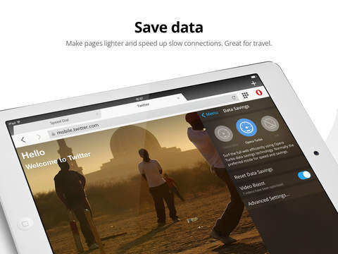 Opera Mini web browser screenshot 7