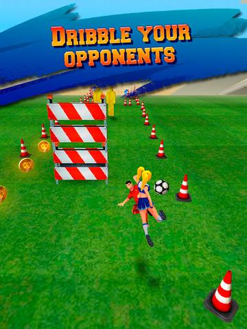 Soccer Runner: Unlimited football rush! screenshot 8