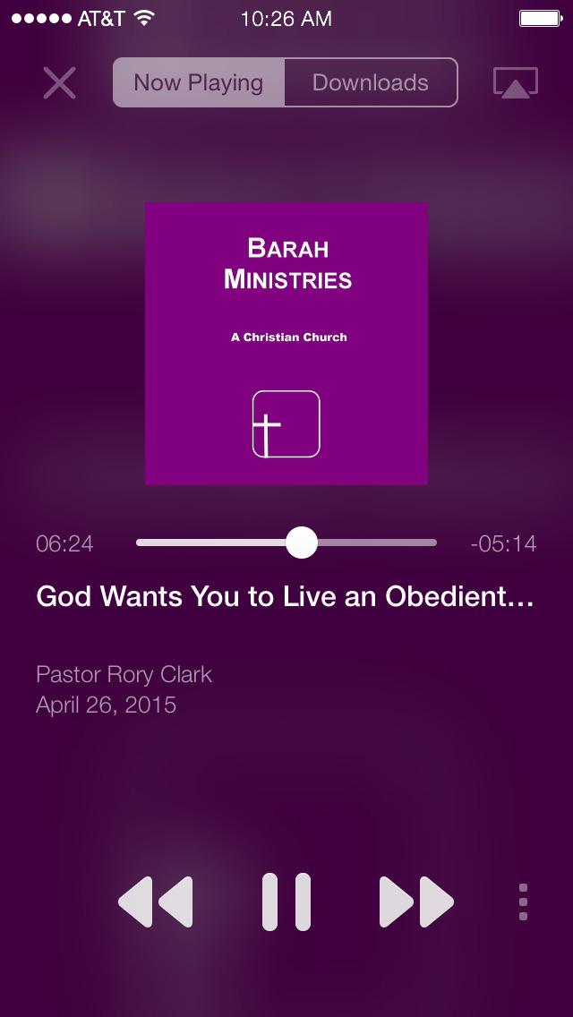 Barah Ministries App screenshot 2