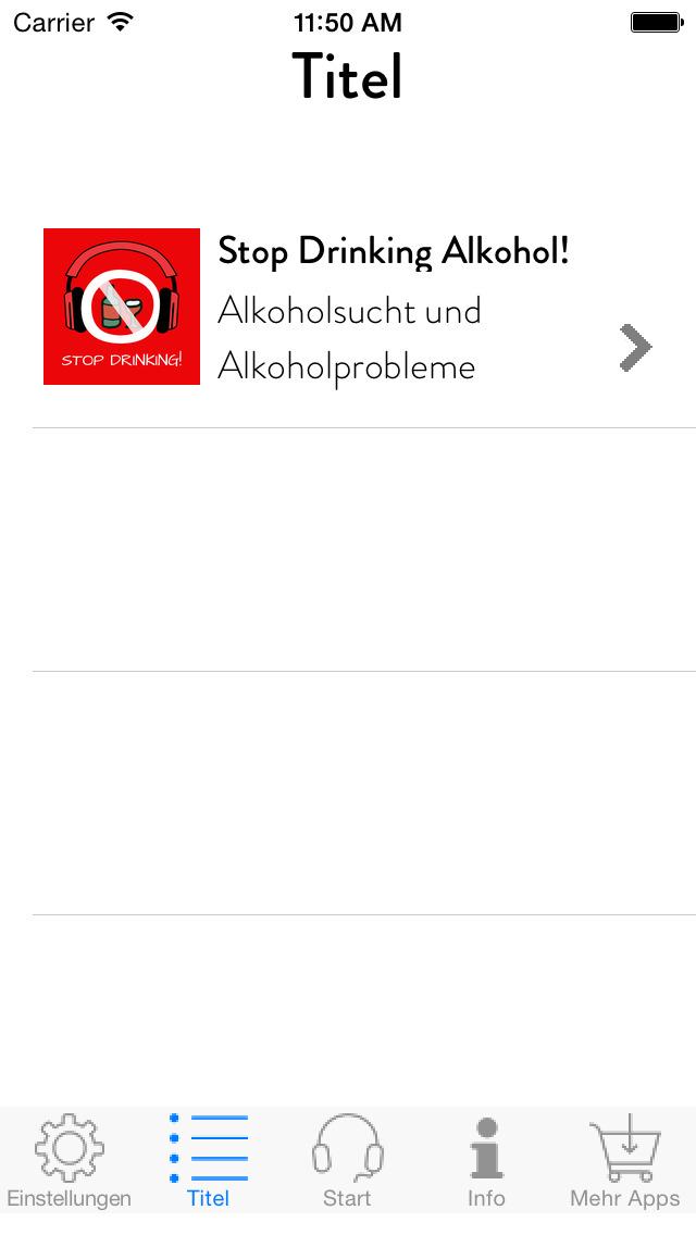 Stop Drinking! Alkoholsucht und Alkoholprobleme überwinden mit Hypnose screenshot 2