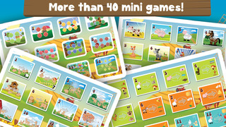 Milo's Mini Games for Tots, Toddlers and Kids of age 3-6 - Barn and Farm Animals Cartoon screenshot 3