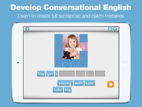 Learn English Games Academy - Free Vocabulary & Conversation Lessons screenshot 8