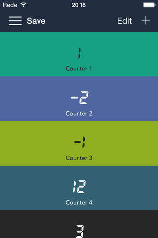 jCounters - náhled