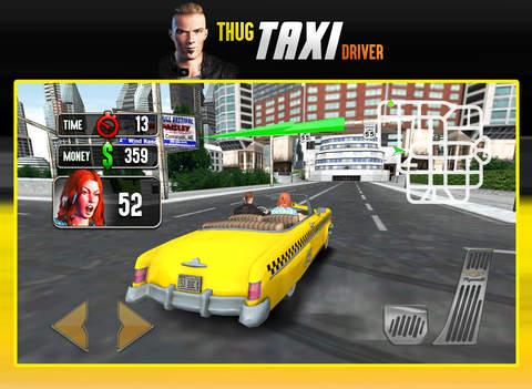 Thug Taxi Driver - AAA Star Game screenshot 10