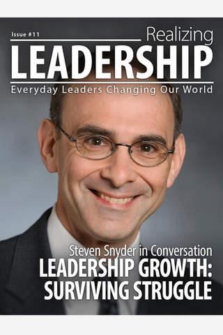 Realizing Leadership - náhled