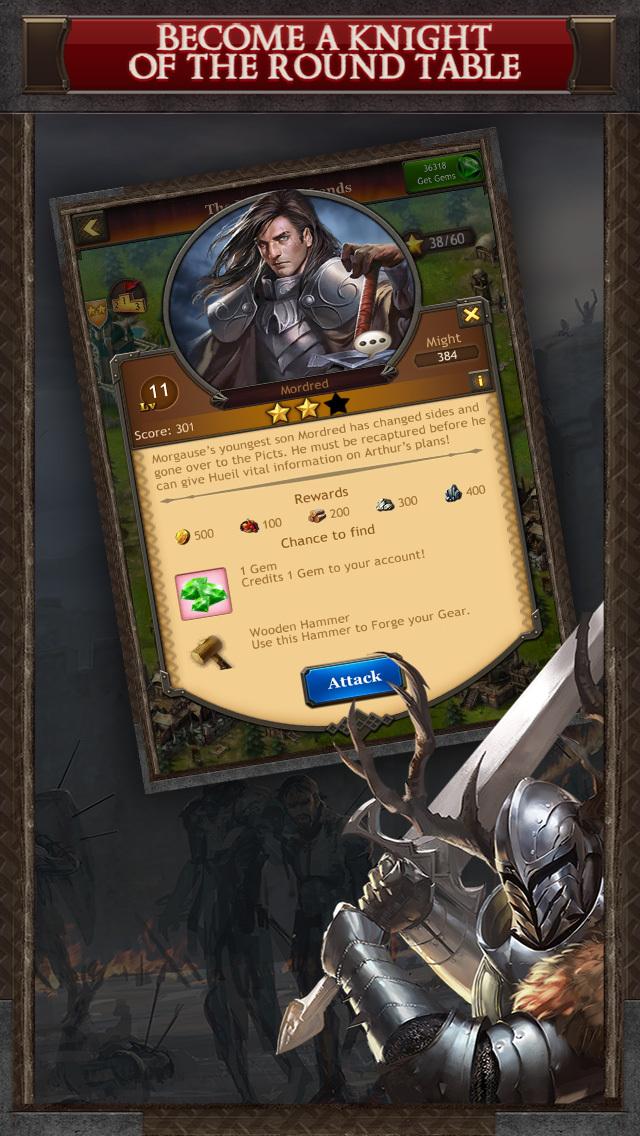 Kingdoms of Camelot: Battle screenshot 5