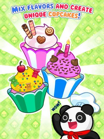 My Cupcake Maker - Create, Decorate and Eat Sweet Cupcakes screenshot #1