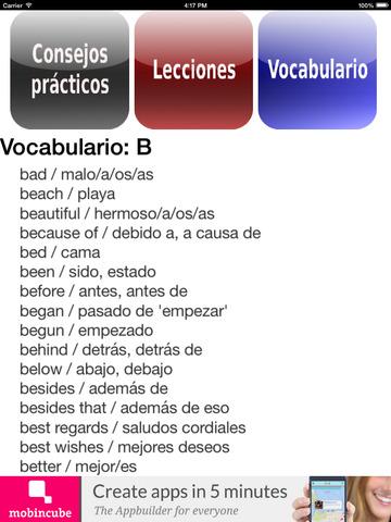 Inglés fundamental screenshot 7