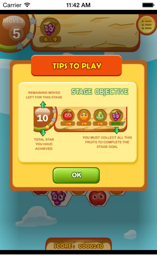 Fruita Swipe Free Game screenshot 3