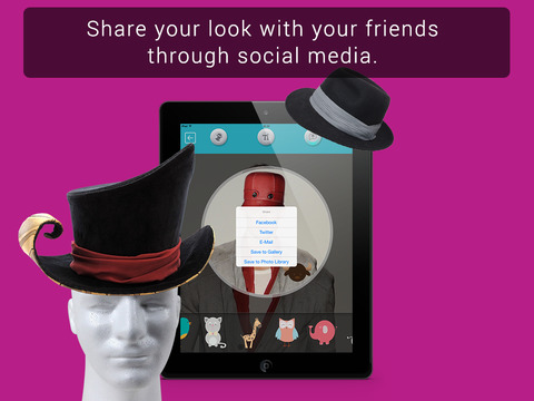 Hat Booth HD screenshot 10