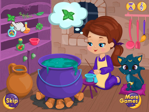Baby Witch Magic Potion screenshot 6