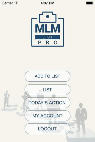 MLM List Pro - náhled