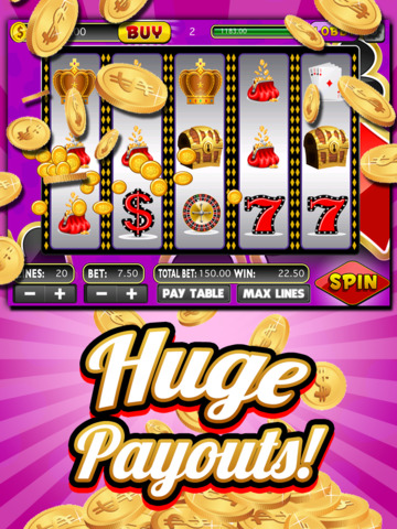 A Classic Vegas Slots Jackpot - Lucky Casino Slot Machine Games With Huge Jackpots HD screenshot 7