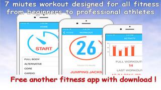 7 Minutes Workout Program screenshot 1