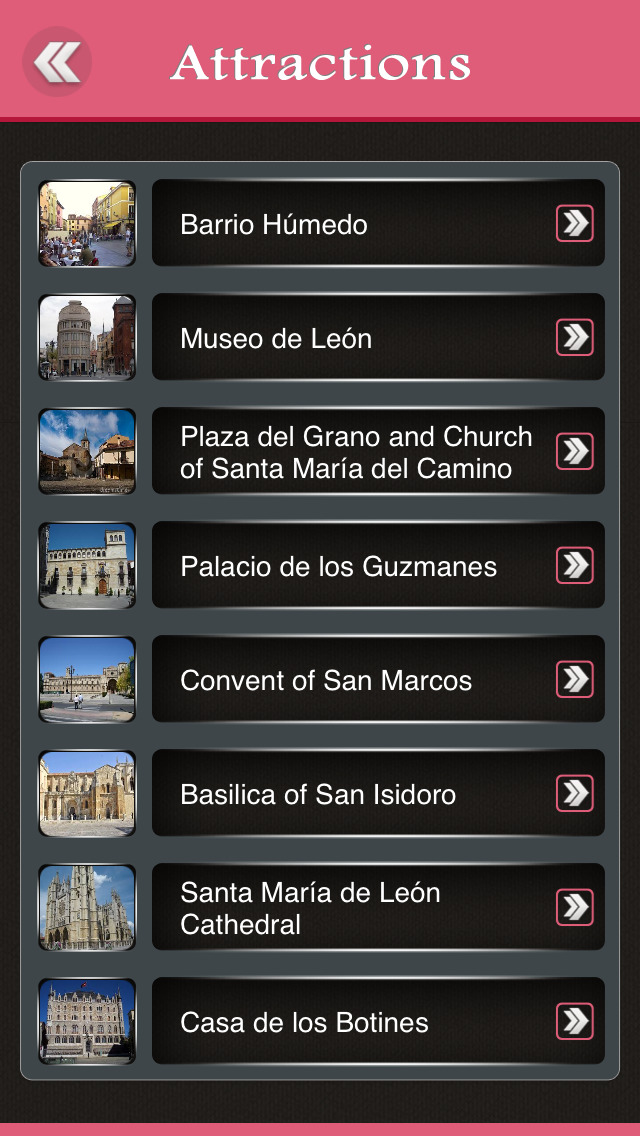 Leon Offline Travel Guide screenshot 3