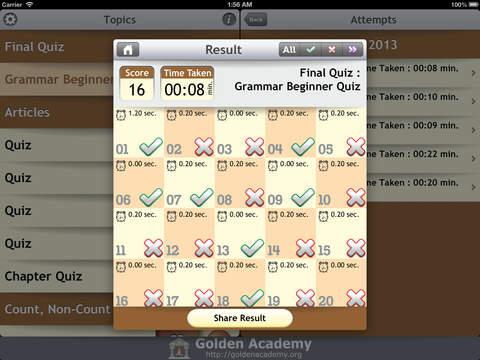 Grammar Expert : English Grammar Beginner screenshot 8