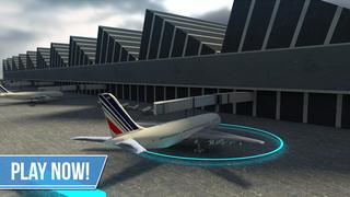 Plane Simulator PRO - landing, parking and take-off maneuvers - real airport SIM screenshot 5
