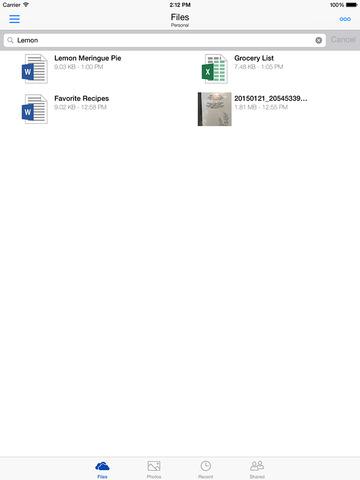 Microsoft OneDrive screenshot 10