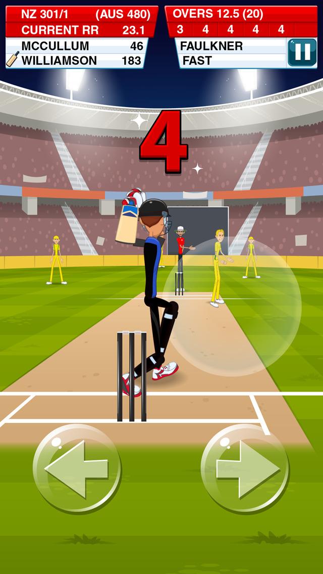 Stick Cricket 2 screenshot #2