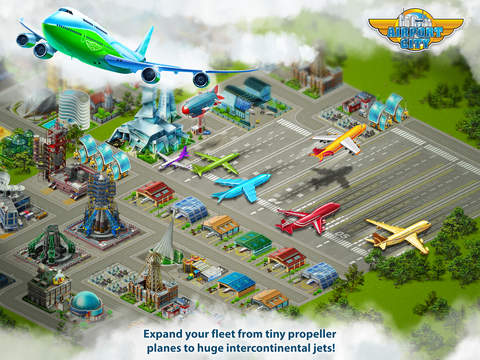 Airport City HD - Manage your aircraft and fly! screenshot 3