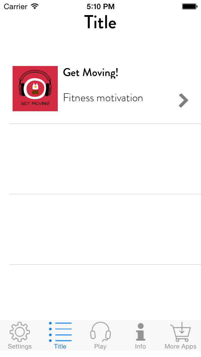 Get Moving! Motivate Yourself to Exercise by Hypnosis screenshot 2