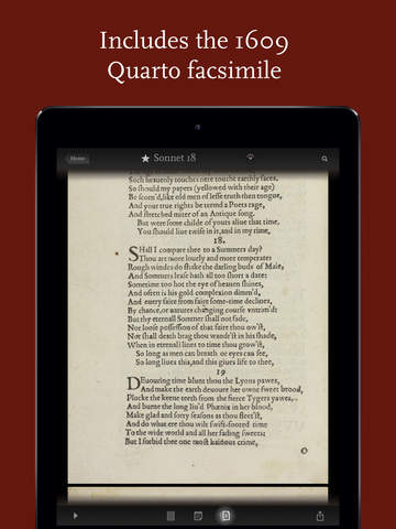 Shakespeare's Sonnets screenshot 5
