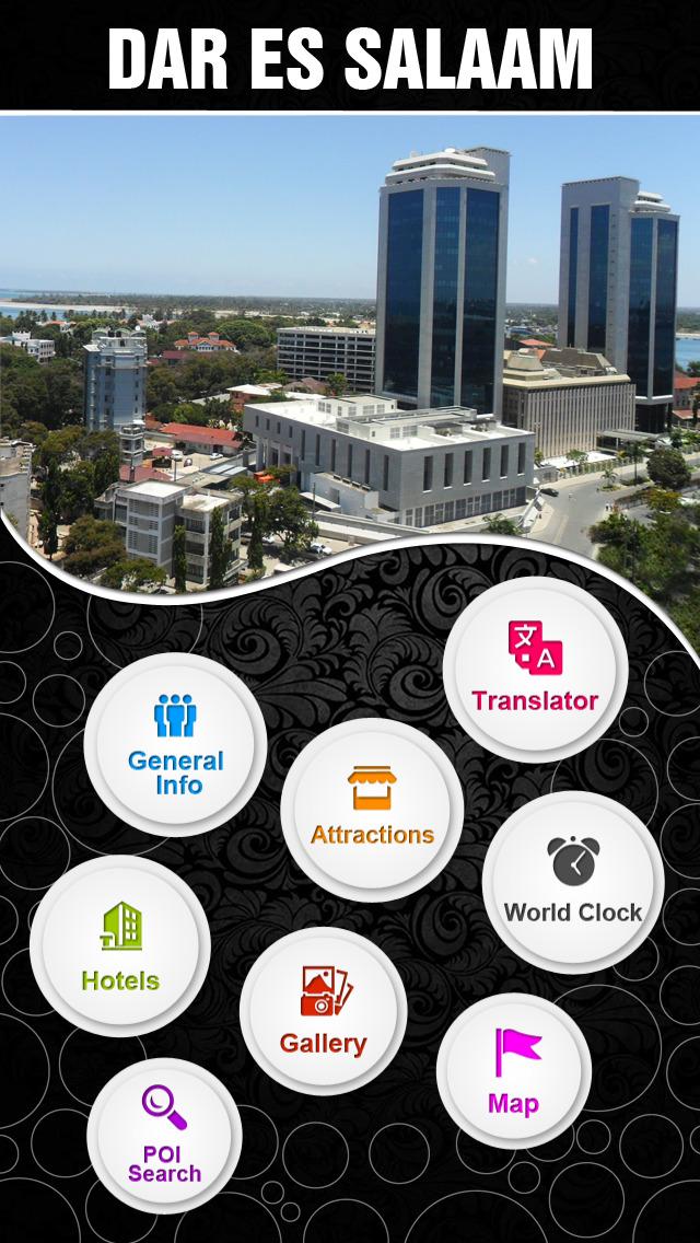 Dar es Salaam City Offline Travel Guide screenshot 2