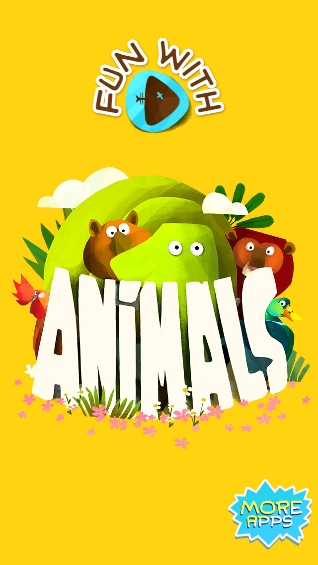 Fun With Animals Dance and Sounds Flash Cards Free - Educational App for Toddlers and Preschoolers screenshot 1