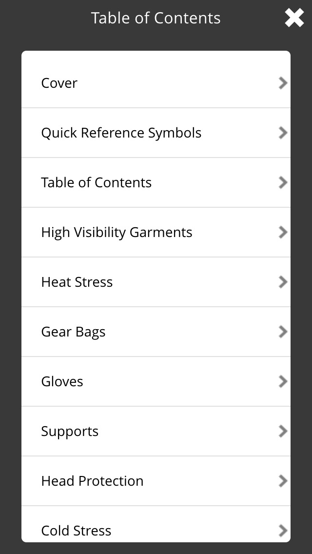 OccuNomix Safety Gear and Apparel Catalogs screenshot 4