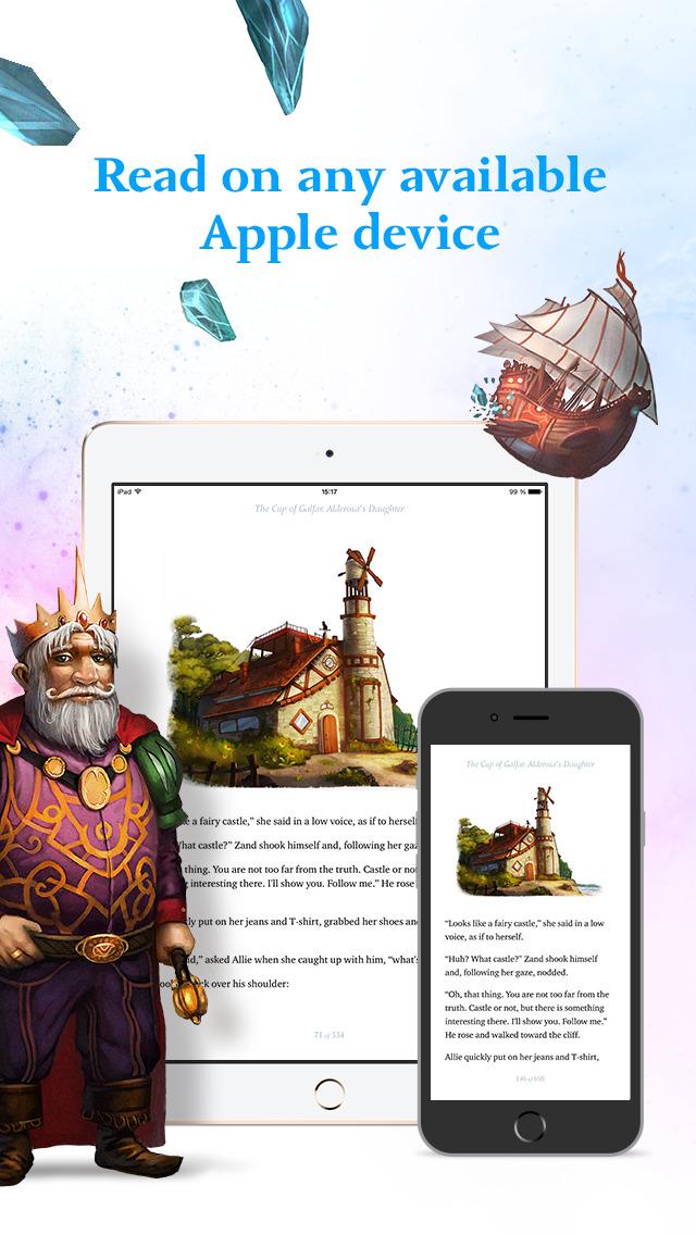 The Cup of Galfar: Fantasy story and hero's novel screenshot 2