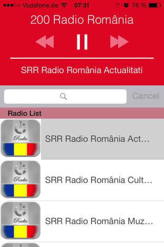 200 Radio română (RO): Stiri, Muzica, Rezultate Fo - náhled