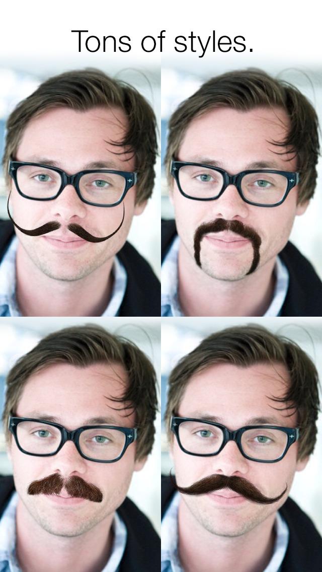 Stacheify - Mustache face app screenshot 3