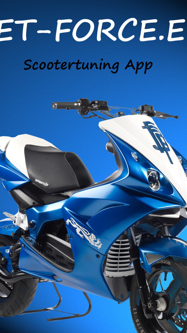 Jet-Force.eu Scootertuning App screenshot 1