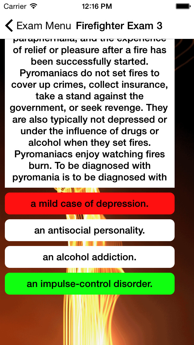Firefighter Exam Buddy screenshot 2