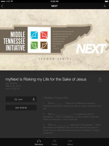 The Cross Church Pensacola screenshot 6