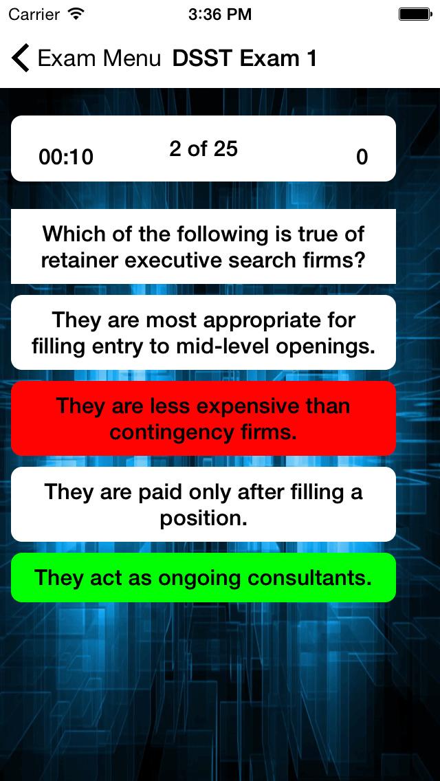 DSST Human Resource Management screenshot 2
