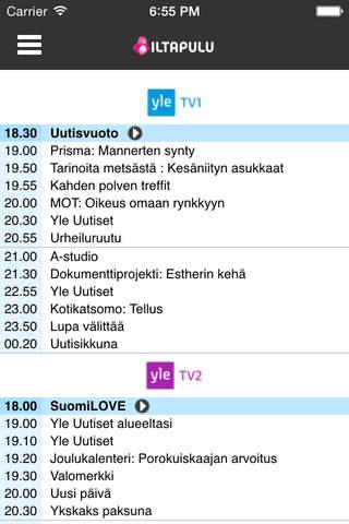 Iltapulu TV-opas - náhled
