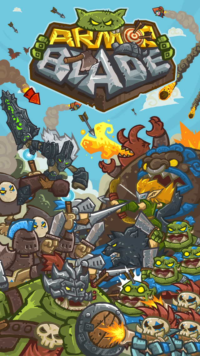Armor Blade - Epic Adventure RPG screenshot 1