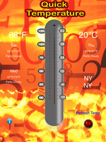 Quick Temperature - The Free Thermometer screenshot 4
