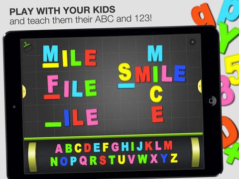 ABC - Magnetic Alphabet Lite for Kids screenshot 1