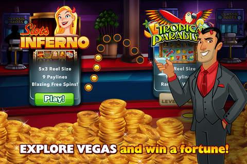 Slots Jackpot Inferno - Free Progressive Macau and - náhled