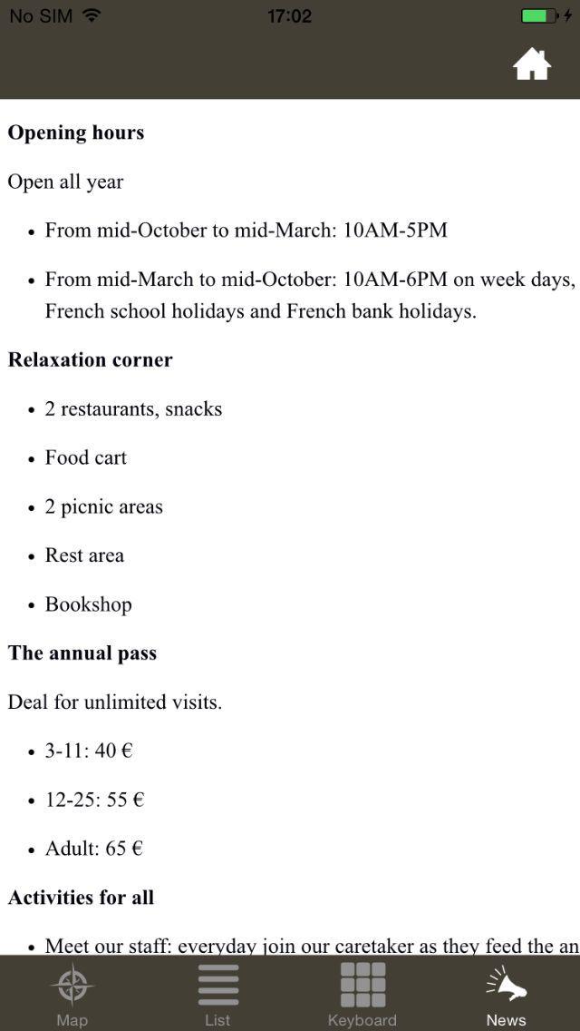 Parc zoologique de Paris screenshot 5