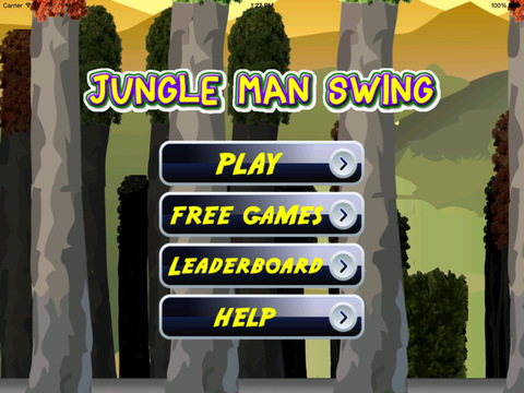 Jungle Man Swing : Rope And Fly Adventure screenshot 10