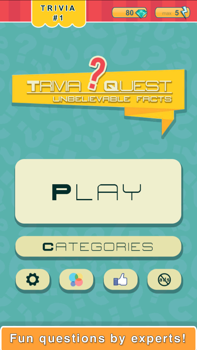 Trivia Quest™ Unbelievable Facts - trivia questions screenshot 3