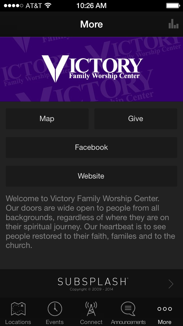 Victory Family Worship Center screenshot 3