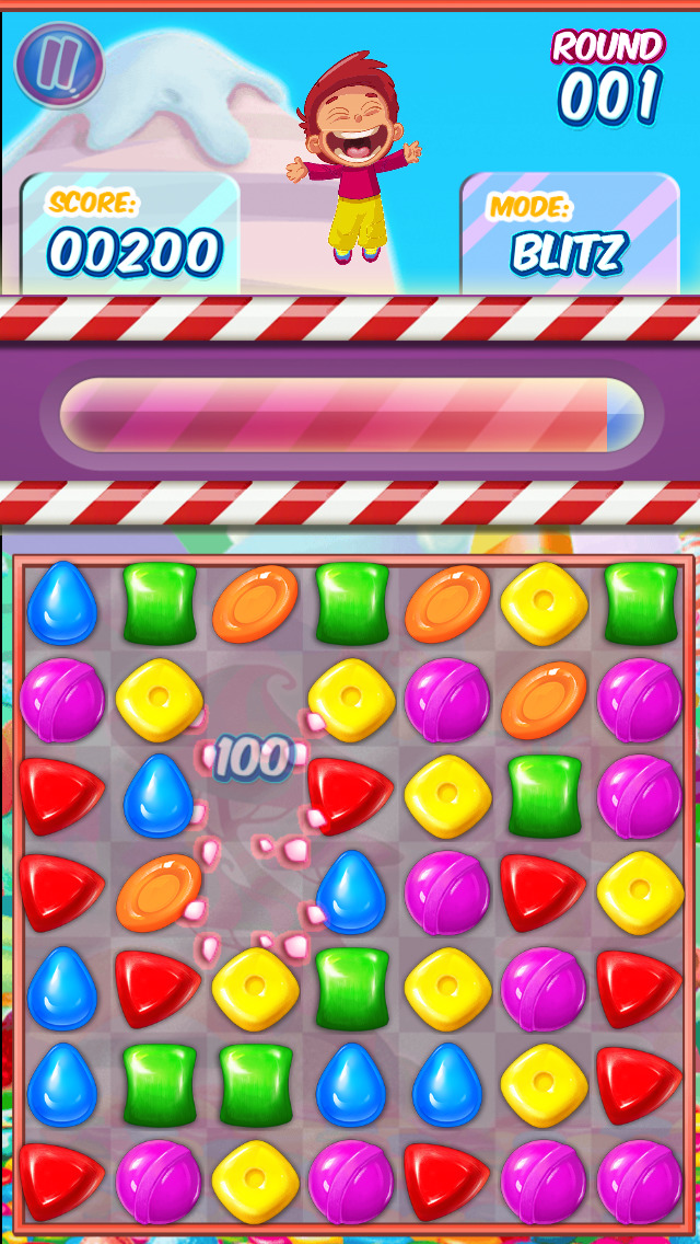 Gummy Candy Adventure screenshot 1