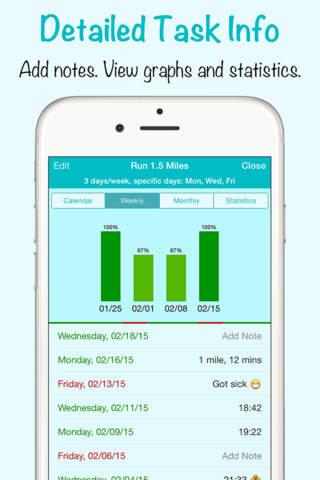 Daylist - Build Good Habits, Track Your Progress - náhled