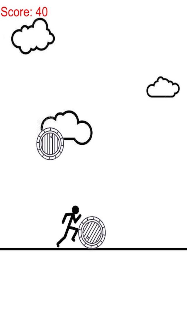 A Stickman On Paper - Raindrop Of Barrel Free screenshot 3